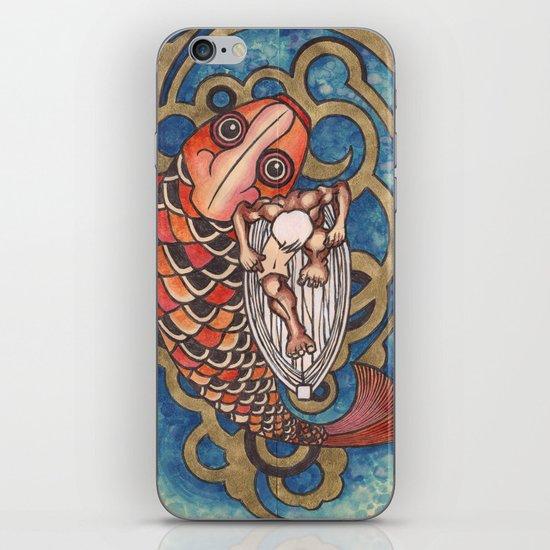 old fisherman iPhone & iPod Skin