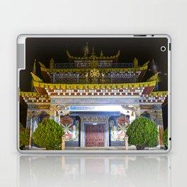 Manjushri Hall - Tibetan Buddhist Temple Laptop & iPad Skin