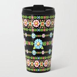 Millefiori Boho Chic Stripe Travel Mug