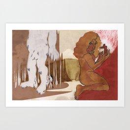 """Love This Giant"" by Virgina McCarthy Art Print"