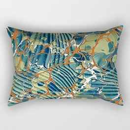 Old Marbled Paper 05 Rectangular Pillow