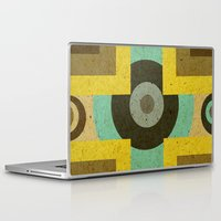 antique Laptop & iPad Skins featuring antique by simay