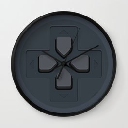 PlayStation - D-Pad Wall Clock