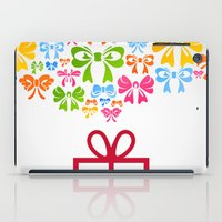 gift card iPad Cases featuring Gift by aleksander1