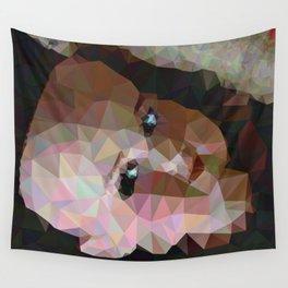 Geometric Doll Head Wall Tapestry