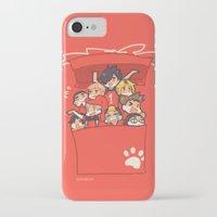 haikyuu iPhone & iPod Cases featuring Haikyuu!! Nekoma Team by Kim Quim