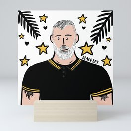 Beard Boy: Ben Mini Art Print