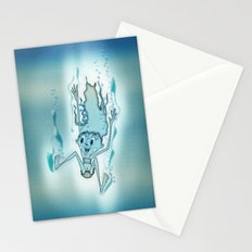 Blue Turquoise Stationery Cards