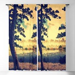 Kana in Autumn Blackout Curtain