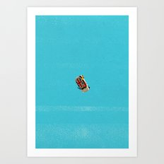 Who's Turn To Drive? Election '17 Art Print