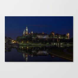 Castle on the Hill. Canvas Print