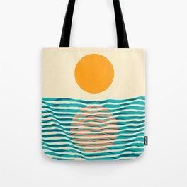 Ocean current Tote Bag