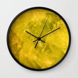 Calcite Wall Clock