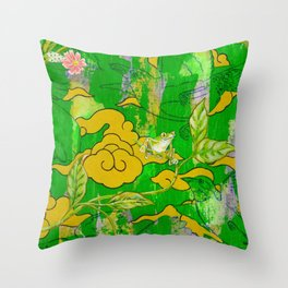 Going Courting Throw Pillow
