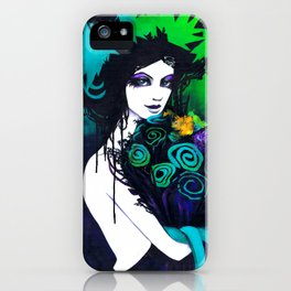 Flora the Goddess of Flowers iPhone Case