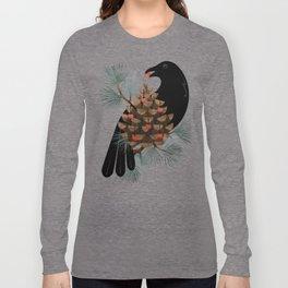 Bird & Berries Long Sleeve T-shirt