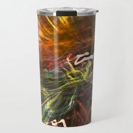 swirl  Travel Mug