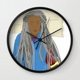 Mrs. B Dread Wall Clock