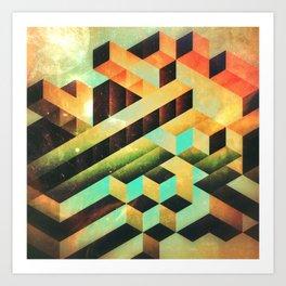 gyrdyn grwws Art Print