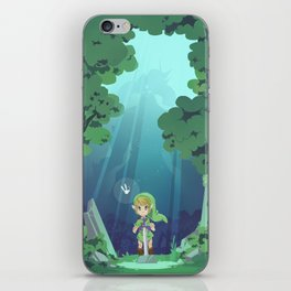 Master Sword and Monsters iPhone Skin