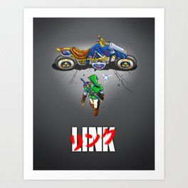 Linkira Art Print