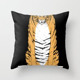 life of pi - black variant Throw Pillow