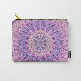 Beautiful detailed Mandala pink purple #mandala Carry-All Pouch