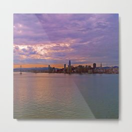 San Francisco Bay Sunrise Metal Print