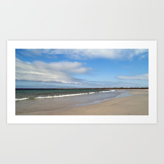 At Whitemill Bay 2 Art Print