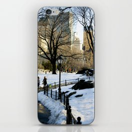 A walk in Central Park  iPhone Skin