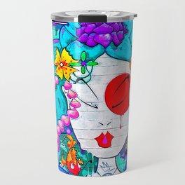 Graffiti Geisha Travel Mug