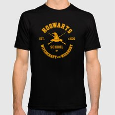 School of Witchcraft and Wizardry - Graduate Print Mens Fitted Tee Black MEDIUM