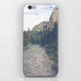 The Montana Collection - A River Runs Through It - Gallatin Canyon iPhone Skin