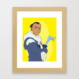 Sokka Framed Art Print