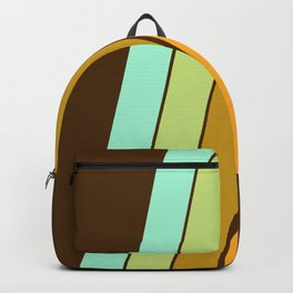 Fer Shure - retro throwback minimal 70s style decor art minimalist 1970's vibes Backpack