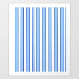 Strips 5-line,band,striped,zebra,tira,linea,rayas,rasguno,rayado. Art Print