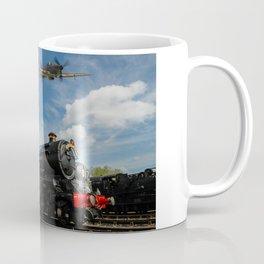 Hurricane and Steam Train Coffee Mug