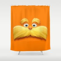 daenerys Shower Curtains featuring THE LORAX by Inara