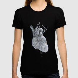 driftwood heart T-shirt