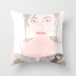 The Witcher Russia: Ciri Throw Pillow