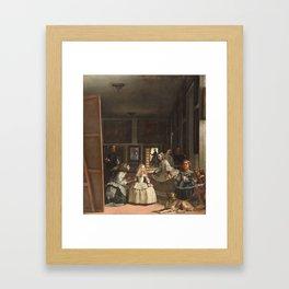 Las Meninas - Velazquez Framed Art Print
