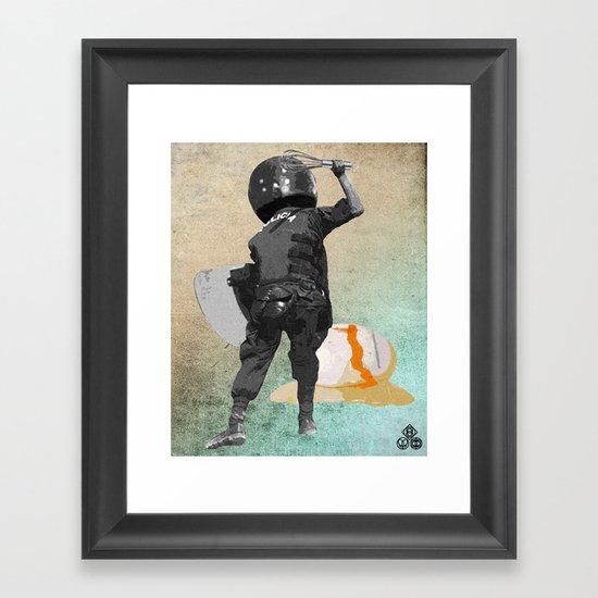beater Framed Art Print