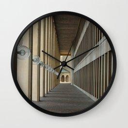 Outdoor Corridor Wall Clock
