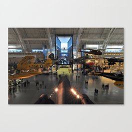 National Air and Space Museum Steven F. Udvar-Hazy Center Canvas Print