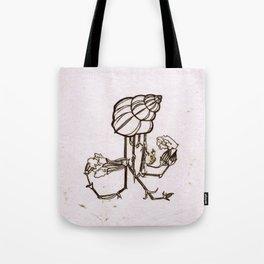 SHELL MONOPRINT Tote Bag