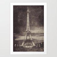 postcard Art Prints featuring Postcard by Marian Hilditch