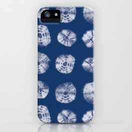 Kumo shibori iPhone Case