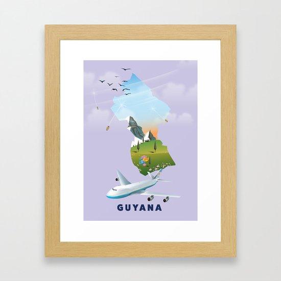 Guyana travel poster by nicholasgreen