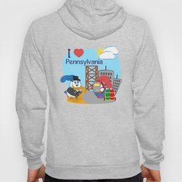 Ernest and Coraline | I love Pennsylvania Hoody