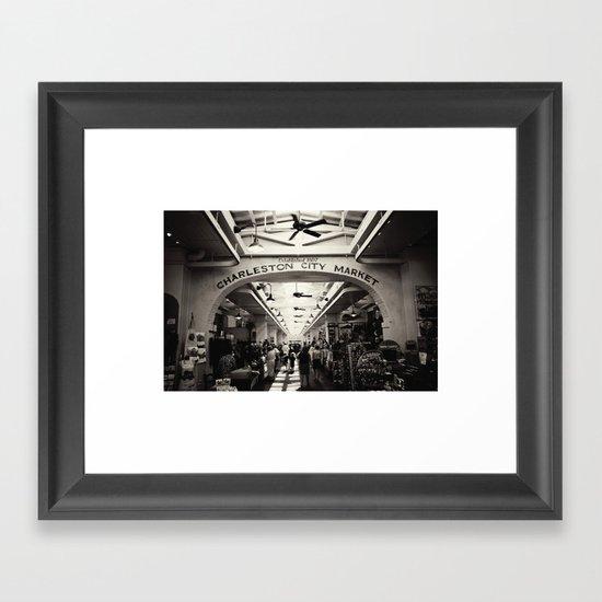 City Market Framed Art Print